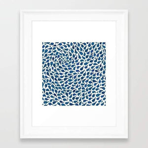 Blue Whales Frame
