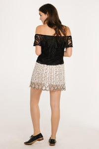 MOON MIST MINI SKIRT