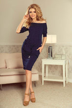 Load image into Gallery viewer, Navy Blue  Dresses