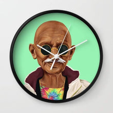 Load image into Gallery viewer, Mahatma Gandhi Wall clock