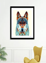 Load image into Gallery viewer, Wolf - Colorful Animals  Frame