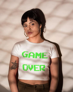 Game Over Women's Crop top Bella+Canvas 6682