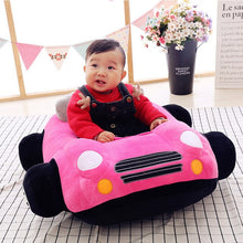 Load image into Gallery viewer, baby start walk carrier soft  sofa Jumpers baby Plush car seat baby children sofa waist anti-fall anti-roll 0-6m