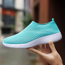 Load image into Gallery viewer, Women Sneakers New Vulcanize  Knitting  Comfort Loafers