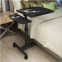 Load image into Gallery viewer, Foldable Computer Table Adjustable Portable Laptop Desk Rotate Laptop Bed Table Can be Lifted Standing Desk  64*40CM