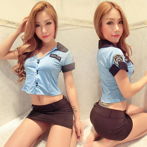 Policewomen Uniforms Lingerie Police Uniforms Set Sexy Lingerie Uniform Temptation