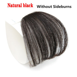 HAIR 4Color Clip In Hair Bangs Hairpiece Synthetic Fake Bangs Hair Piece Clip In Hair Extensions