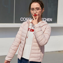 Load image into Gallery viewer, SEMIR 2018 New Parkas basic Winter jackets Female Women Winter plus velvet lamb hooded Coats Down Winter Jacket Womens Outwear