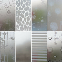 Load image into Gallery viewer, Privacy Bedroom Bathroom Home Glass Window Door Glass Decor Frosted Window Film Static Cling