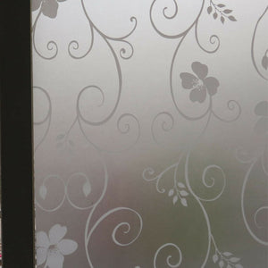Privacy Bedroom Bathroom Home Glass Window Door Glass Decor Frosted Window Film Static Cling