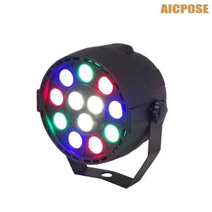 led par lights 54x3W DJ Par LED 54*3w lights R12,G18,B18,W6  Wash Disco Light DMX Controller effect for Small paty KTV