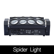 Load image into Gallery viewer, 8x12w Rotating Moving Head LED Stage Effect Lamp Spider Stage Beam Light for Disco