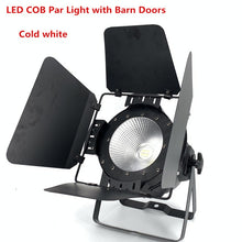 Load image into Gallery viewer, 200W COB LED par light  With Barn Doors RGBWA UV 6in1/RGBW 4in1/RGB 3in1/ Warm White Par64 led wash