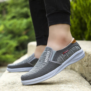 Dad shoes new soft bottom breathable casual shoes old Beijing men's shoes low shoes