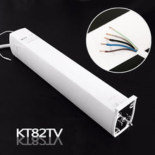 Load image into Gallery viewer, Customizable Super Quite  silence Electric Curtain Track for xiaomi Aqara /KT82,DT82  Curtain Motor for smart home For Russia
