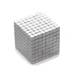 125Pcs Powerful Rare Earth Neodymium Cubes Kids Toy Square Magnets Block Cube Educational Toys