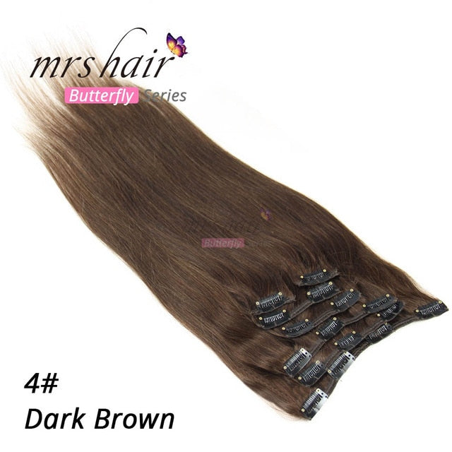 MRS HAIR Clip In Hair Extensions 14