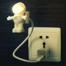 Load image into Gallery viewer, Flexible Spaceman Astronaut Usb Tube Led Night Light Lamp For Computer