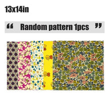 Load image into Gallery viewer, Bees Wax Wraps Reusable Food Wraps Eco Friendly Organic Sustainable Plastic Free Food Storage Kitchen Gadgets Accessories Tools