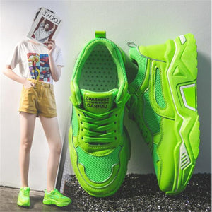 Women Fashion  Breathable Outdoor Sneakers