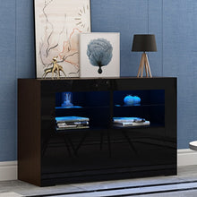 Load image into Gallery viewer, Modern Living Room Furniture TV Cabinets High Gloss Doorshigh Bedroom Organizer Display