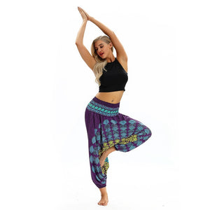 Women Casual Loose Yoga Baggy  Aladdin Leggings
