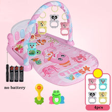 Load image into Gallery viewer, Baby Play Mat 3 in 1Baby Gym Toys Soft Lighting Rattles Musical Toys