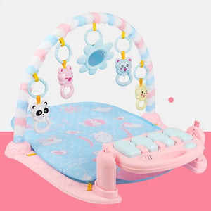 Baby Play Mat 3 in 1Baby Gym Toys Soft Lighting Rattles Musical Toys