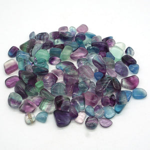 50g Natural Fluorite Crystal Stones Mini Rock Mineral Specimen Healing Chakra Chip