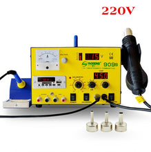 Load image into Gallery viewer, YAOGONG Big Deal 909S Autocut hot air 3 in 1 DC power supply soldering rework station