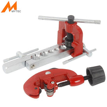 Load image into Gallery viewer, 3-28mm Tube Cutter Flaring Tool Kit Manual Pipe Expander Metric/Inch Expansion Mouthparts Device For Copper Tube Flaring Tool