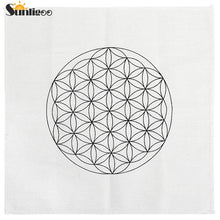 Load image into Gallery viewer, Sunligoo 1pc Printed Flower of Life/Metatron's Cube/Seed of Life Sacred Geometry