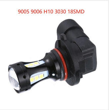 Load image into Gallery viewer, H4 H7 H10 6000K 12V 18SMD 3030 LED Headlight Led Bulb Hi-Lo Beam Headlight Lamp Bulb for Most Car Led Lamp Car Headlamp