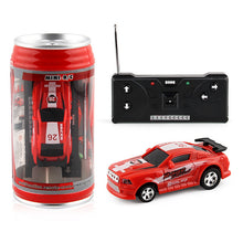 Load image into Gallery viewer, Creative Coke Can Mini Car RC Cars Collection Radio Controlled Cars Machines On The Remote Control Toys For Boys Kids Gift TSLM1