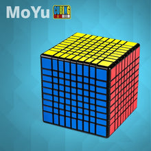 Load image into Gallery viewer, Stickerless Cube Meilong MoYu MF9 9x9x9 Cube Magic 9 Layers Shape 9x9 Speed Puzzle Cubo