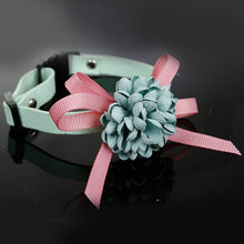 Load image into Gallery viewer, 3D Dog Cat With Flowers Accessories Safe Lovely Adjustable Decoration