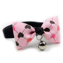Load image into Gallery viewer, Adjustable Pet Supplies Colorful Fashionable Element Pet Dog Cute Bow Tie Bell