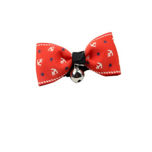 Adjustable Pet Supplies Colorful Fashionable Element Pet Dog Cute Bow Tie Bell