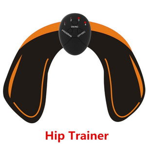 2/4/6/8pcs Set Hip Trainer Abdominal machine electric muscle stimulator ABS ems Trainer Body slimming