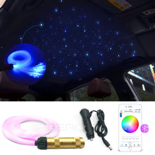 Load image into Gallery viewer, Optic Fiber Lights 0.75mm Smart APP control RGBW Starry Sky Ceiling night Light Optical Fiber Cable available Car Decoration