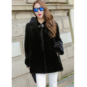 Plus Size 4XL Women Basic Coats New Fashion Winter Jacket