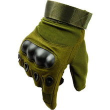 Load image into Gallery viewer, Army Military Tactical Gloves Men Winter Full Finger Hard Knuckle Gloves Paintball Airsoft Shoot Combat Anti-Skid Bicycle Gloves