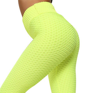 Tummy Control Leggings Women Yoga Pants High Waist Workout Tights Running Compression