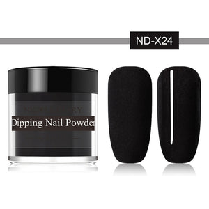 10g Thermal Glitter Dip Nail Powder Shinny Temperature Color Changing Chrome