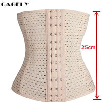 Load image into Gallery viewer, Womens Waist Trainer Cincher Body Shaper Underwear Lingerie Tummy Slim Belt Postpartum Control Underbust Steel Boned Corset