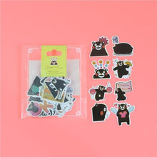 Load image into Gallery viewer, 1 Bag Cute Cartoon Korean Style Decorative Stickers Adhesive Stickers Scrapbooking DIY Decoration Diary Stickers