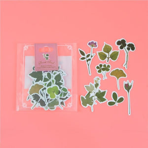 1 Bag Cute Cartoon Korean Style Decorative Stickers Adhesive Stickers Scrapbooking DIY Decoration Diary Stickers