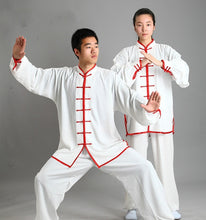 Load image into Gallery viewer, Traditional Chinese Clothing 14 Color Long Sleeved Wushu TaiChi KungFu Uniform Suit Uniforms Tai Chi Exercise Clothing