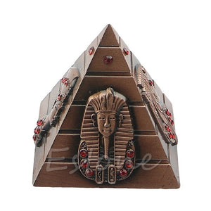 Egyptian Pharaoh  Avatar Camel Metal Pyramids Antique 4 Colors