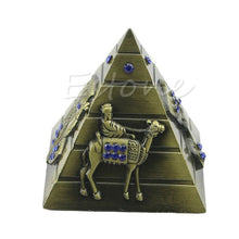 Load image into Gallery viewer, Egyptian Pharaoh  Avatar Camel Metal Pyramids Antique 4 Colors